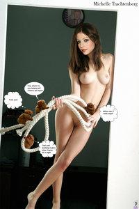 w7vxliovj3ek t Michelle Trachtenberg Fake Nude and Sex Picture
