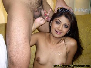 Shilpa Shetty Nude SHowing her Pussy and Giving Blowjob [Fake]