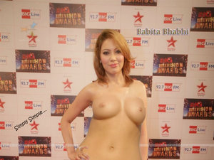 Moon Moon Dutta Nude Showing her Boobs n Inserting Dildo [Fake]