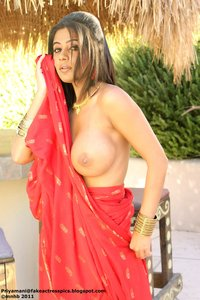 Priyamani Nude Showing her Boobs and her Ass Hole [Fake]